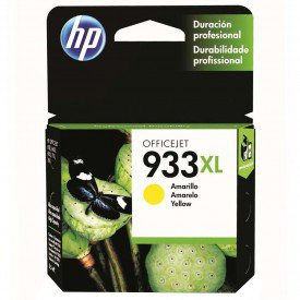 Cartucho de Tinta HP OfficeJet 933XL Amarelo CN056AL