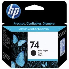 Cartucho de Tinta HP 74 Preto CB335WB