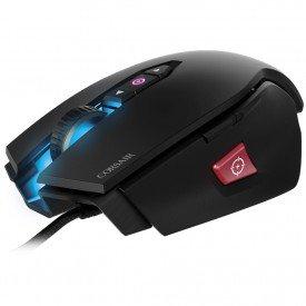 Frente Mouse Gamer Corsair M65 Pro RGB Preto