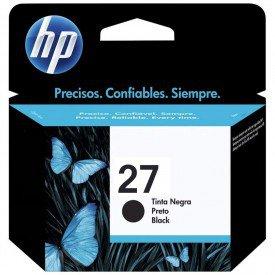 Cartucho de Tinta HP 27 Preto C8727AB