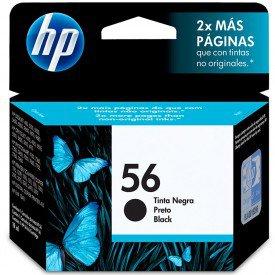 Cartucho de Tinta HP 56 Preto C6656AB