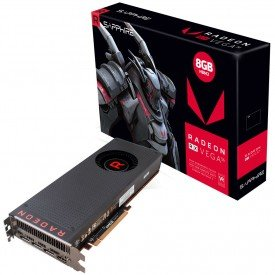 Caixa Placa de Vídeo Sapphire Radeon RX Vega 56 8GB HBM2