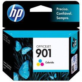 Cartucho de Tinta HP 901 Tricolor CC656AB