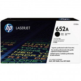 Cartucho de Toner HP LaserJet 652A Preto CF320A