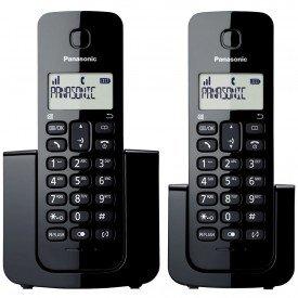 Telefone Sem Fio com Ramal Panasonic KX-TGB112LBB