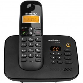 Frontal Telefone Sem Fio Intelbras TS 3130 Preto