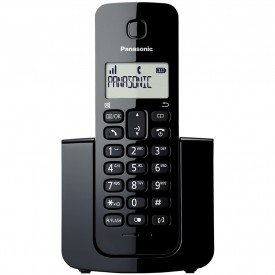 Frontal Telefone Sem Fio Panasonic KX-TGB110LBB Preto