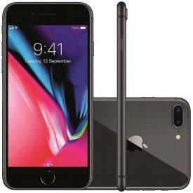 Principal Smartphone Apple iPhone 8 Plus Cinza Espacial