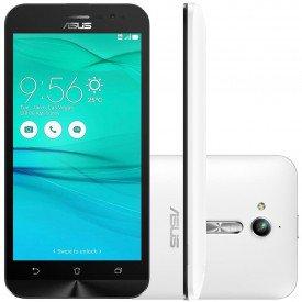 Smartphone Asus Zenfone GO ZB500KG Tela 5 3G Desbloqueado Branco