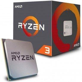 Caixa e Processador AMD Ryzen 3 1200 31GHz Cache 10mb