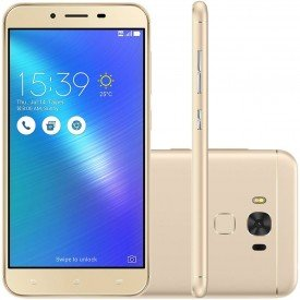 "Smartphone Asus Zenfone 3 Max 5.5"" 32GB Dual ZC553KL Desbloqueado - Dourado"