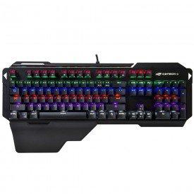 Teclado Gamer C3 Tech KGM-1100BK Preto