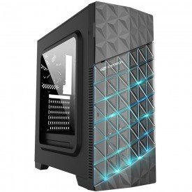 Gabinete Gamer C3 Tech MT-G750BK Preto